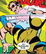 James Howlett & Scott Summers (Earth-616) from X-Men Vol 1 111 0001