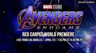 Marvel Studios' Avengers Endgame LIVE Red Carpet World Premiere