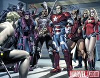 New Avengers Annual Vol 1 3 page 2-3 Avengers (Dark Avengers) (Earth-616)