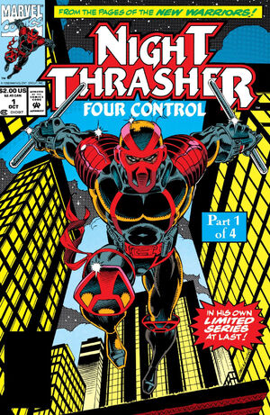 Night Thrasher Four Control Vol 1 1