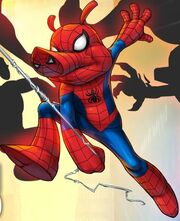 Peter Porker (Earth-TRN461) from Spider-Man Unlimited (video game) 002