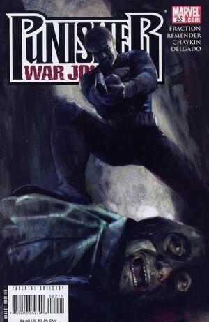 Punisher War Journal Vol 2 22