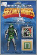 Secret Wars Vol 1 8 Action Figure Variant Textless