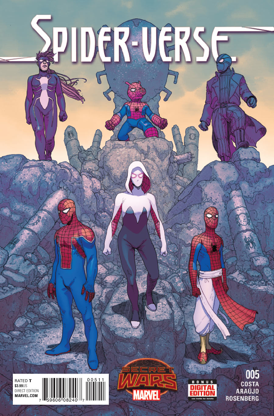 Spider Verse Vol 2 5 Marvel Database Fandom Powered By Wikia