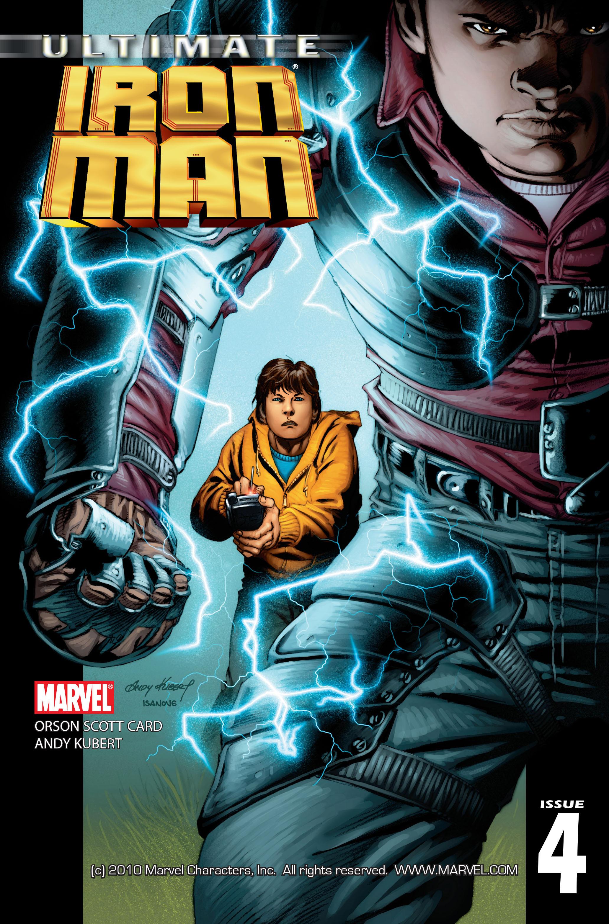 Ultimate Iron Man Vol 1 4
