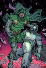 Victor von Doom (Paper Memory) (Earth-616) from Unbelievable Gwenpool Vol 1 22 001