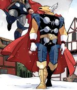 Beta Ray Bill (Earth-5631) Thor and the Warriors Four Vol 1 2