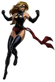 Carol Danvers (Earth-12131) from Marvel Avengers Alliance 001