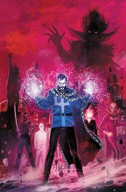 Doctor Strange Damnation Vol 1 1 Textless