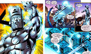 Galan (Earth-616), Norrin Radd (Earth-616), and Reed Richards (Earth-616) from Last Planet Standing Vol 1 5 001