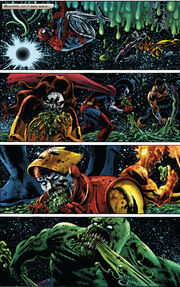 Marvel Zombies (Earth-2149) consuming Ego (Earth-2149) from Marvel Zombies 2 Vol 1 1 0001