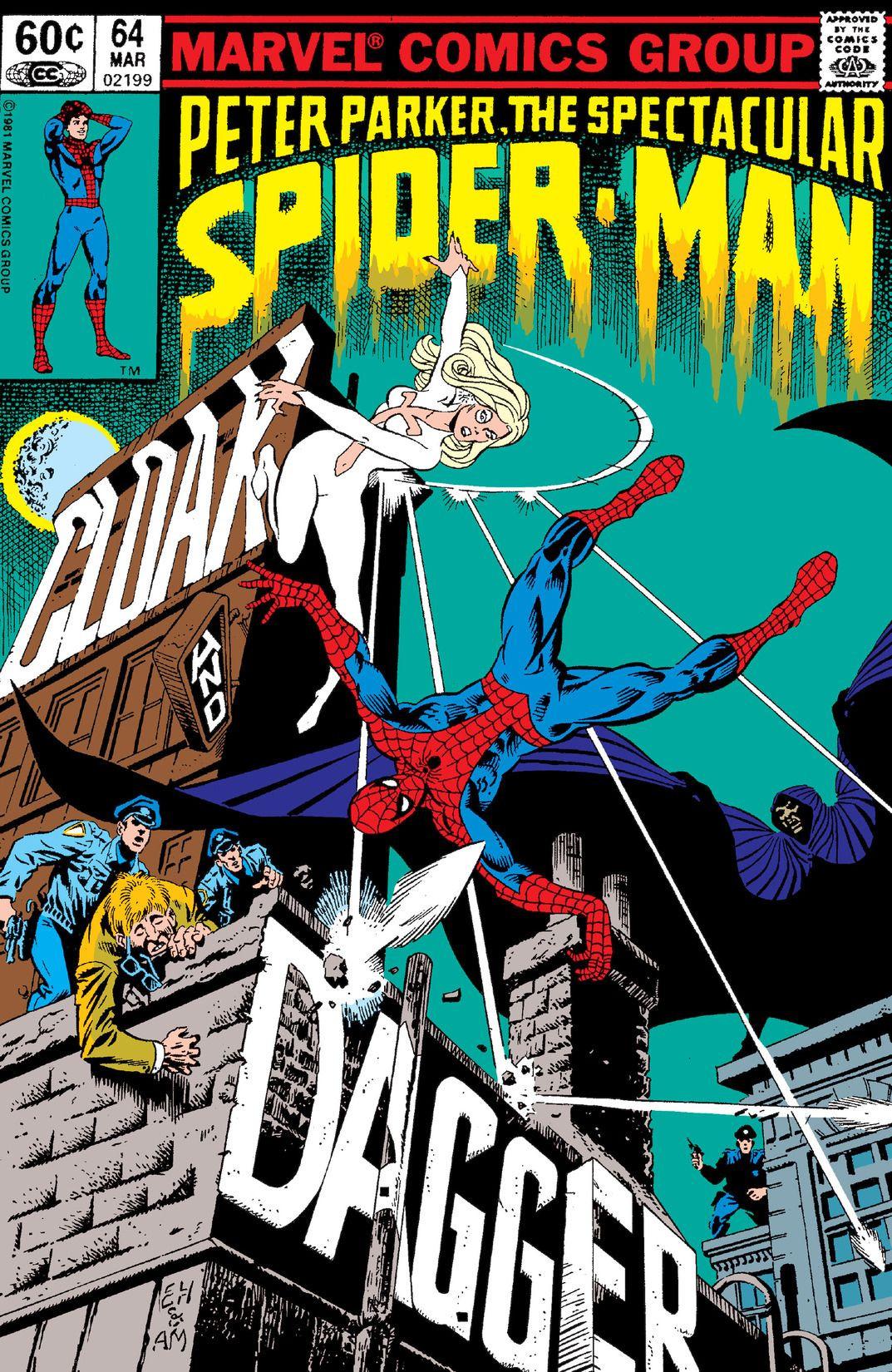 Peter Parker, The Spectacular Spider-Man Vol 1 64