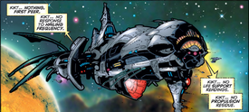Phalanx Cruiser from Uncanny X-Men Vol 1 343
