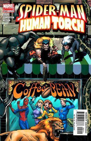 Spider-Man Human Torch Vol 1 2