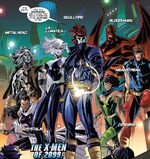 X-Men (2099) (Earth-TRN657) from X-Men Blue Vol 1 16 001