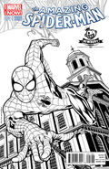 Amazing Spider-Man Vol 3 1 Newbury Comics Black and White Variant