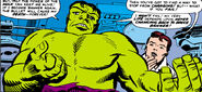Bruce Banner (Earth-616) trapped as the Hulk