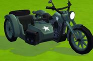 Captain America's Motorcycle from Marvel Avengers Academy 002