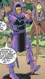 Clinton Barton (Earth-398) from Avengers Vol 3 2 0001