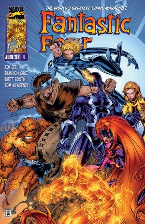 Fantastic Four Vol 2 8
