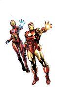 Generations Iron Man & Ironheart Vol 1 1 Coipel Variant Textless