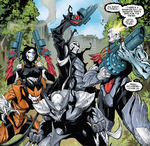 Hive (Poisons) (Earth-17952) Members-Poison X-Force from Venomized Vol 1 1 001