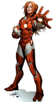 Invincible Iron Man Vol 2 29 Women of Marvel Variant Textless