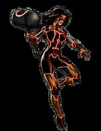 Jessica Drew (Earth-12131) from Marvel Avengers Alliance 003