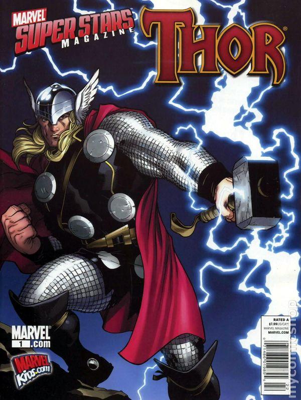 Marvel Super Stars Magazine Vol 1 1