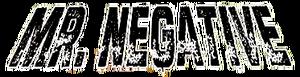 Mister Negative Logo