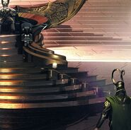 Odin Borson (Earth-199999) and Loki Laufeyson (Earth-199999) from Thor (film) Concept Art 0001