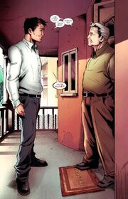 Peter Parker (Earth-616) and Benjamin Parker (Earth-TRN207) from Amazing Spider-Man Annual Vol 1 39 001