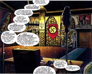 Wehrmacht Headquarters from Adventures of Captain America Vol 1 1 001