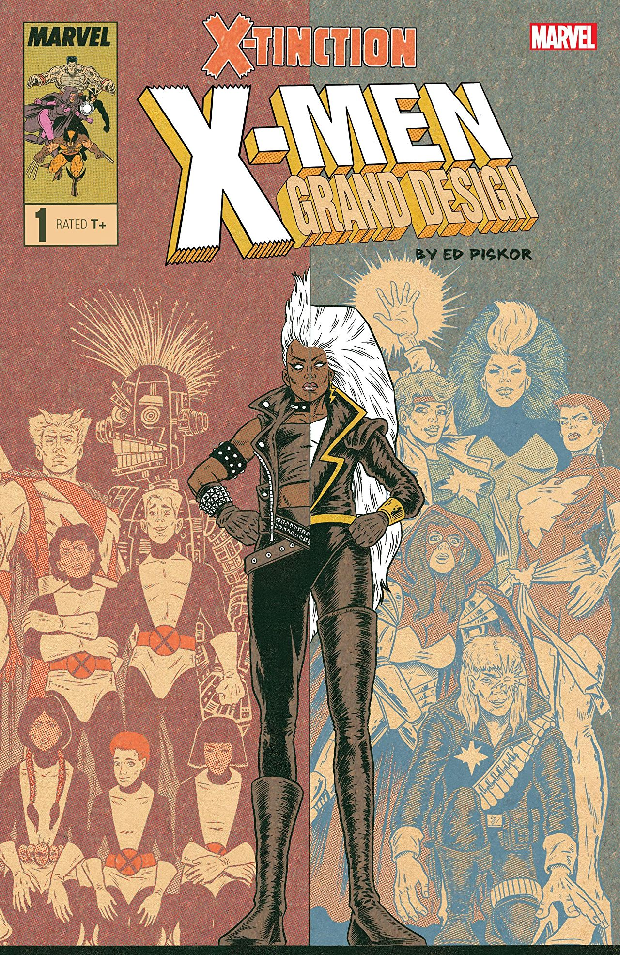 Image result for x-men grand design x-tinction #1