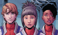 Alpha Cadets (Earth-616) from Mighty Captain Marvel Vol 1 5 001