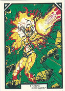 Amara Aquilla (Earth-616) from Arthur Adams Trading Card Set 0001