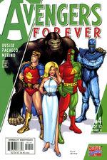 Avengers Forever Vol 1 4 Agents of Atlas Variant