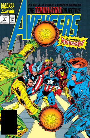Avengers The Terminatrix Objective Vol 1 3