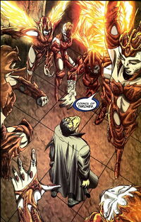 Council of Thrones (Earth-616) from WolverinePunisher Revelation Vol 1 1 0001