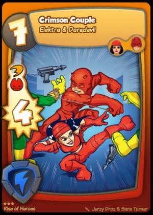 Daredevil Elektra - Crimson Couple