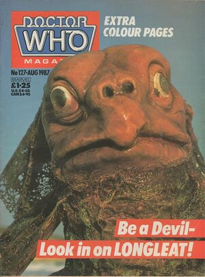 Doctor Who Magazine Vol 1 127