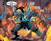 Edward Brock (Earth-616) and Venom (Dreamstone Simulacrum) from Venom Vol 4 15 001
