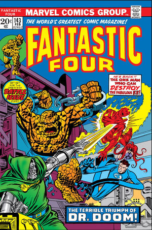 Fantastic Four Vol 1 143