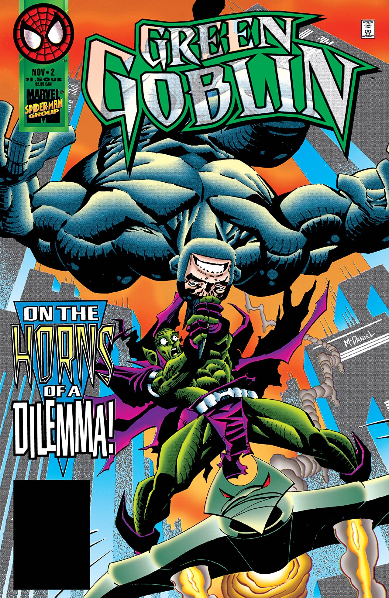 green goblin vol 1 2 | marvel database | fandom poweredwikia