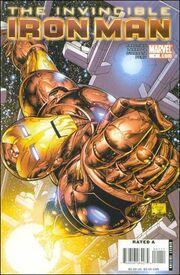 Invincible Iron Man Vol 2 1 Quesada Variant