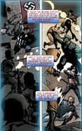 Isaiah Bradley (Earth-616) and the Young Avengers (Earth-616) from Captain America Vol 1 600 001