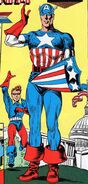 James Buchanan Barnes (Earth-616) and Steven Rogers (Earth-616) from Captain America Comics Vol 1 1 0001