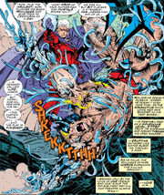 James Howlett & Max Eisenhardt (Earth-616) from X-Men Vol 2 25 0001