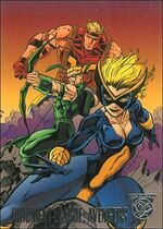 Judgment League Avengers (Earth-9602) from Amalgam Comics (Trading Cards) 0003