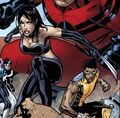 Laura Kinney (Earth-616) and Victor Alvarez (Earth-616) from Avengers Academy Vol 1 33 0001.jpg